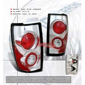 97 98 99 00 01 02 FORD EXPEDITION EURO CHROME TAIL LIGHT