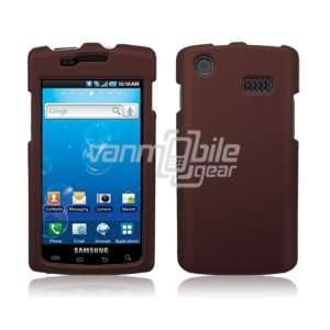 VMG Burgundy Hard 2 Pc Rubberized Texture Plastic Snap On