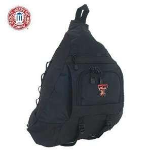 Luggage Texas Tech Red Raiders Black Sling Bag
