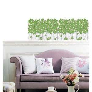 Clover Fence Removable Decor Wall Sticker PS 58092