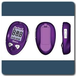 Perfect 3 Voice Talking Glucose Meter & Strips: Health & Personal Care