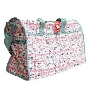 Hello Kitty Gym Travel Bag Pink Sanrio