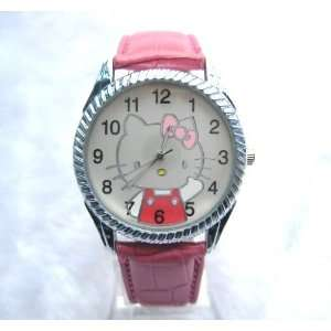 Miss Peggy Jos ~Big Hello Kitty Jw364 Round Shape Quartz