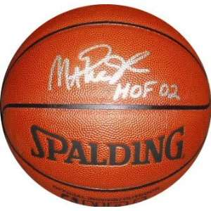 Magic Johnson Autographed Indoor/Outdoor NBA Basketball