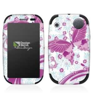 Design Skins for HP Palm Pre Plus   Pink Butterfly Design