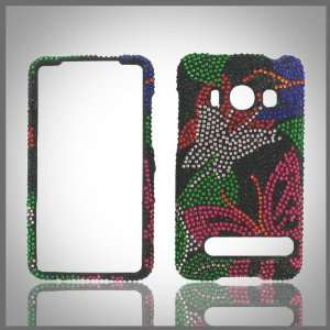 crystal bling case cover HTC Evo 4G Cell Phones & Accessories