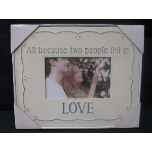 Fetco Home Decor Nora Love Picture Frame D174964