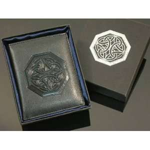 Celtic Irish Cross Knot Bifold Wallet BRAND NEW High quality