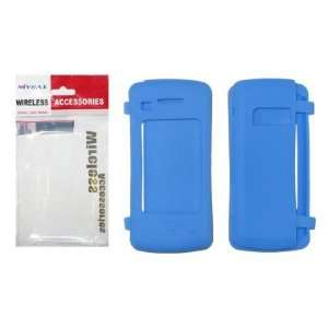 Light Blue Soft Silicone Gel Skin Cover Case for LG enV