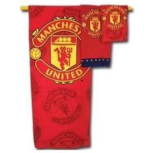 Manchester United Three Piece Towel Set