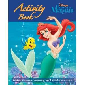 Little Mermaid  and Friends (Disney Activity) (9781405485753) Books