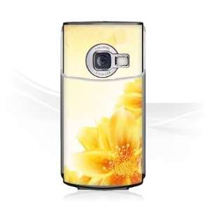 Design Skins for Nokia N70   Yellow Flowers Design Folie