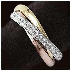 Objet Three Ring Gold Napkin Rings Set of Four Napkin Rings