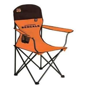 Cincinnati Bengals NFL Deluxe Folding Conversation Arm Chair