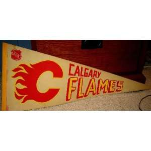 Can Vintage calgary flames think, what