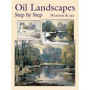 Oil Landscapes Step by Step (Dover Art Instruction