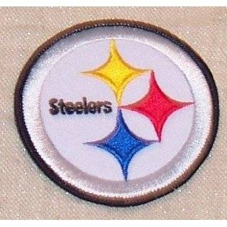 NFL FOOTBALL PITTSBURGH STEELERS HELMET EMBROIDERED PATCH