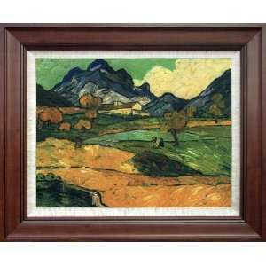 : Van Gogh Le Mont Gaussier The Mas De Saint Paul: Home & Kitchen