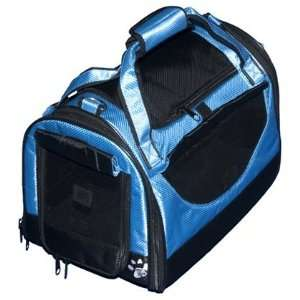 3 in 1 Soft Sided Pet Carrier Small Carribean Blue