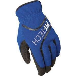 Fly Racing Pit Tech Lite Gloves   10/Blue: Automotive