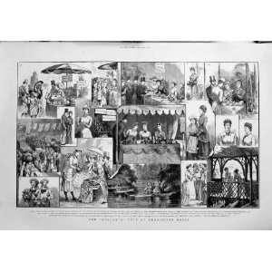 1880 Atalanta Fete Kensington House Princess Wales