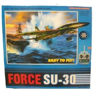 SU 30 Fighter Jet RC RTF Radio Control Airplane: Toys