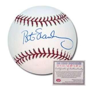 Bob Stanley Boston Red Sox Hand Signed Rawlings MLB