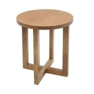 Regency Seating HWTE2123MO Round Wood End Table: Home