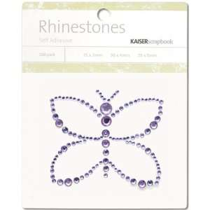 Self Adhesive Rhinestones Butterfly Lilac   621520 Patio