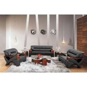 Piece Living Room Set Black   Sofa, Loveseat & Chair
