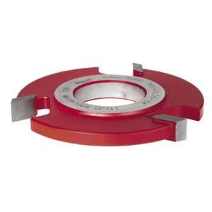 Freud UP141 3 Wing 3/8 Inch Straight Edge Shaper Cutter, 1 1/4 Bore