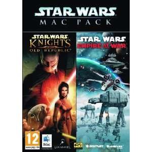 Star Wars: Mac Pack (Empire at War / Knights of the Old Republic) [UK