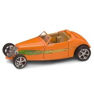 18   1933 Ford Coupe (Street Rod Version) in Orange Toys & Games