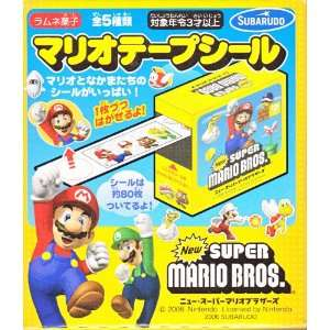 Takara Tomy Nintendo Super Mario Bros. Sticker Roll Toys & Games