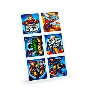Marvel Super Hero Squad Stickers (4 count) Toys & Games
