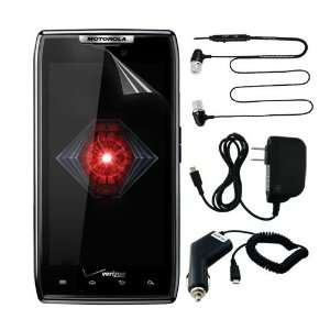 headset w/mic for Motorola DROID RAZR 4G Android Phone (Verizon
