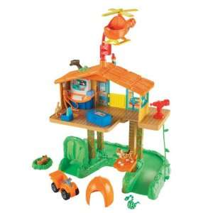 Fisher Price Diegos Talking Rescue Center  Toys & Games