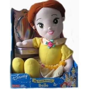 Fisher Price Disney MY FIRST PRINCESS BELLE Plush Doll Toys & Games