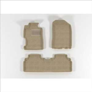 HONDA Civic Sedan 2006 2011 Beige CLASSIC Molded Floor Mats