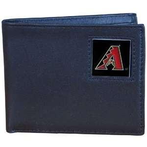 MLB Arizona Diamondbacks Leather Bi fold Wallet