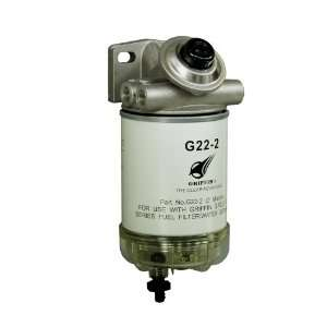 Griffin GP227 2 Spin On Fuel Filter / Water Separator Automotive