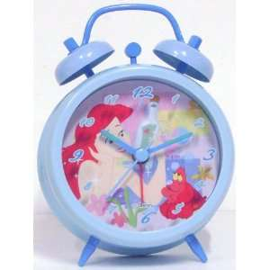 Disney Princess Ariel Twin Bell Alarm Clock Toys & Games
