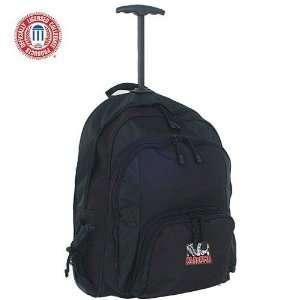 Luggage Alabama Crimson Tide Black Wheeled Backpack