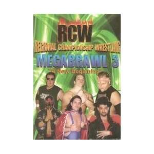 RCW Megabrawl 3 DVD Everything Else