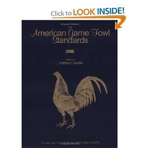 American Game Fowl Standards (9780977293902): Anthony
