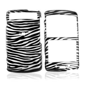 For Samsung Intrepid i350 Hard Case Silver Black Zebra Electronics