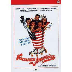 vacanze in america (Dvd) Italian Import jerry cala