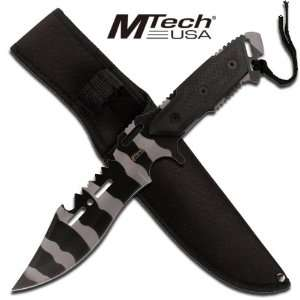 Tech Tactical Combat Fighting Knife   Urban Camo  Sports