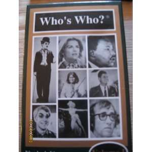 Volume 1 Book, Game (Whos Who?, Volume 1) Angar International Books