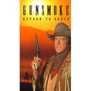 Gunsmoke  Return to Dodge [VHS]: James Arness, Amanda